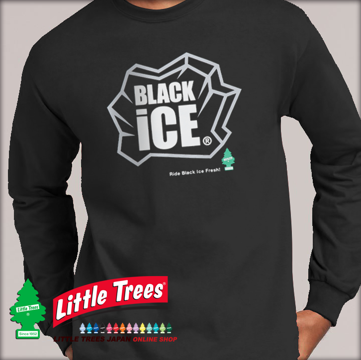 2020.9.20 <BLACK iCE LOGO Long Sleeve T-Shirts 発売!> LITTLE TREES JAPAN ONLINE SHOP 限定❗️